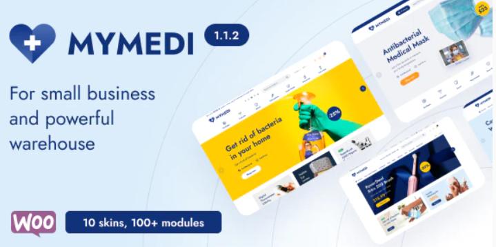 MyMedi - Responsive WooCommerceWordPress Theme