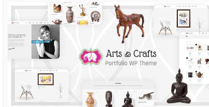 Crafts & Arts - Handmade Artist WordPress