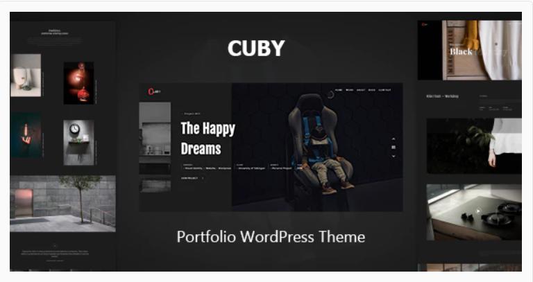 Cuby - Portfolio WordPress Theme