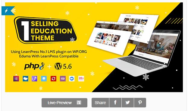 Best WordPress Theme For Education Website