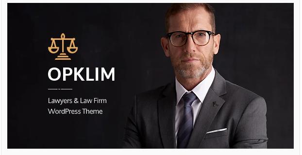 Opklim - Law Firm WordPress Theme