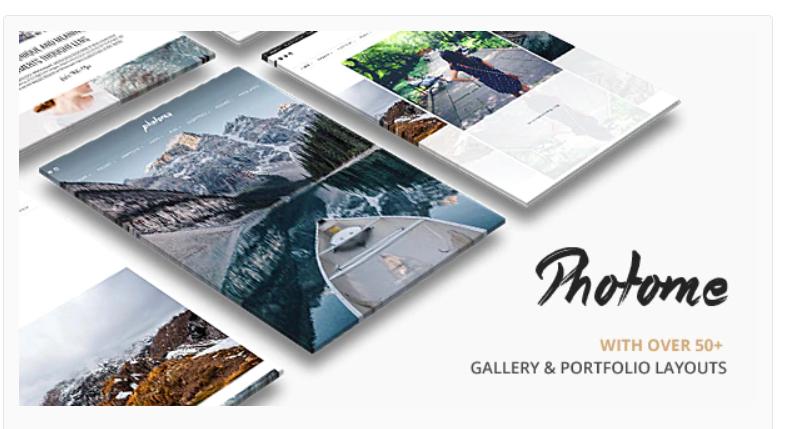 PhotoMe | Portfolio WordPress