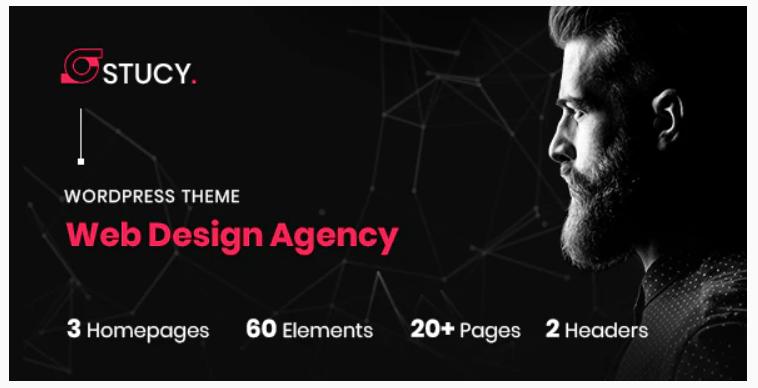 Stucy - Web Design Agency WordPress Theme