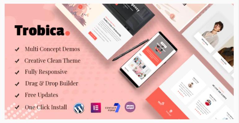 Trobica - Multi Purpose WordPress Theme