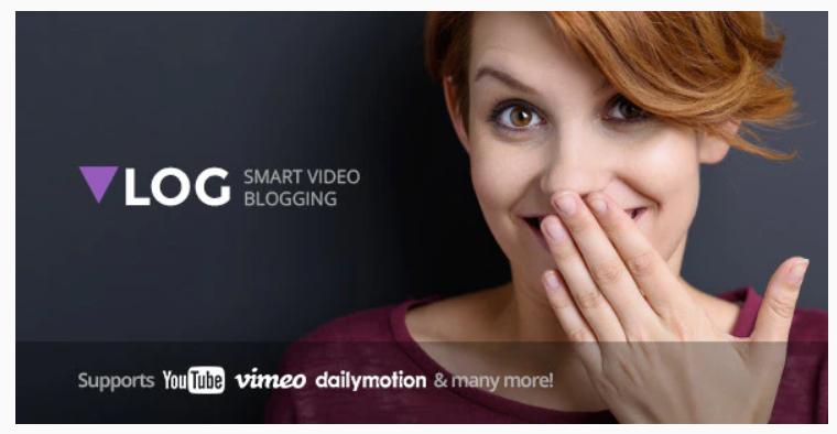 Vlog - Video Blog & Podcast WordPress Theme